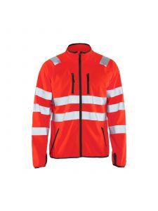 High Vis Jacket Softshell 4906 High Vis Rood - Blåkläder
