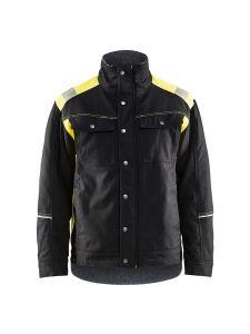 Blåkläder 4915-1370 Winter Jacket - Black/High Vis Yellow