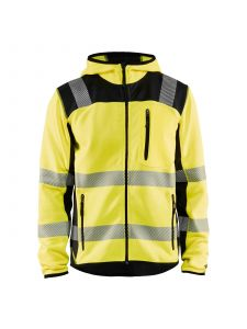 Knitted High Vis Jacket 4923 High Vis Geel/Zwart - Blåkläder