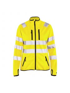 Ladies high Vis Jacket Softshell 4926 Yellow - Blåkläder