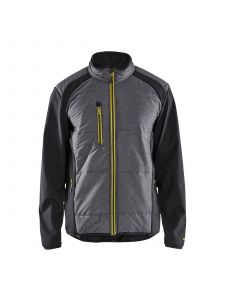 Hybrid Jacket 4929 Zwart/High Vis Geel - Blåkläder