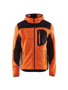 Blåkläder 4930-2117 Knitted Jacket - High Vis Orange