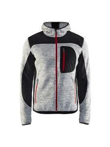 Blåkläder 4930-2117 Knitted Jacket - Grey Melange