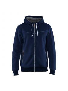 Hoodie With Hot Linning 4933 Marineblauw - Blåkläder