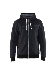 Hoodie With Hot Linning 4933 Zwart - Blåkläder