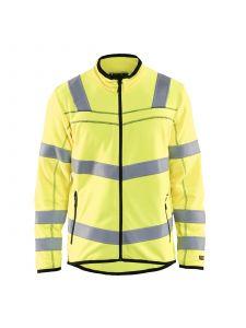 High Vis Microfleece Jacket 4941 High Vis Geel - Blåkläder