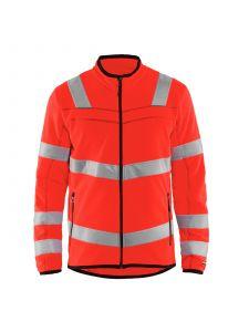High Vis Microfleece Jacket 4941 High Vis Rood - Blåkläder