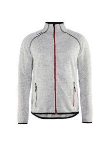 Blåkläder 4942-2117 Knitted Jacket - Grey Melange