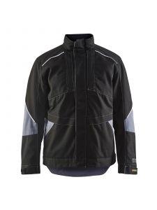 Anti-Flame Winter Jacket 4961 Zwart/Grijs - Blåkläder