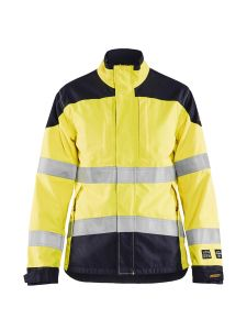 Ladies Multinorm Jacket Inherent 4969 Yellow/Navy - Blåkläder