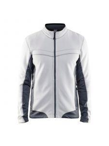 Micro Fleece Jacket 4997 Wit/Grijs - Blåkläder