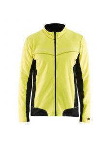 Micro Fleece Jacket 4997 High Vis Geel/Zwart - Blåkläder