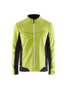 Micro Fleece Jacket 4997 Lime/Zwart - Blåkläder