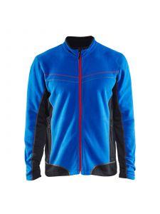 Micro Fleece Jacket 4997 Korenblauw/Zwart - Blåkläder