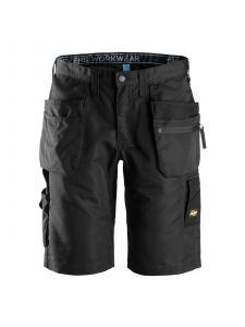 Snickers 6101 LiteWork, 37.5™ Shorts+ met Holsterzakken - Black