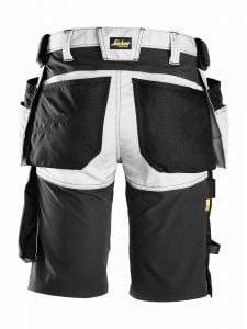Snickers 6141 AllroundWork Stretch Shorts met Holsterzakken