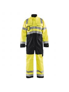 High Vis Overall 6373 High Vis Geel/Zwart - Blåkläder