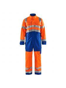 High Vis Overall 6373 High Vis Oranje/Korenblauw - Blåkläder