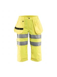 Ladies Pirate Shorts High Vis 7139  High Vis Geel - Blåkläder