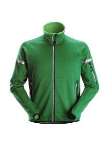 Snickers 8004 AllroundWork, 37.5® Fleece Jack - Apple Green