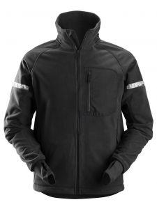 Snickers 8005 AllroundWork, Windproof Fleece Jack - Black