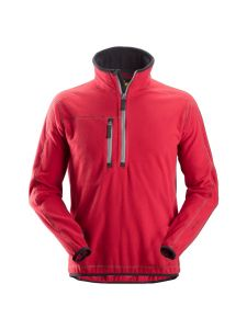 Snickers 8013 A.I.S Pullover 1/2 Zip - Chili Red