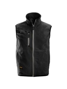 Snickers 8014 A.I.S. Fleece Vest - Black