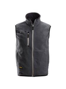 Snickers 8014 A.I.S. Fleece Vest - Steel Grey