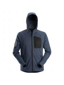 Snickers 8041 FlexiWork, Fleece Hoodie - Navy