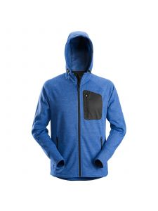 Snickers 8041 FlexiWork, Fleece Hoodie - True Blue
