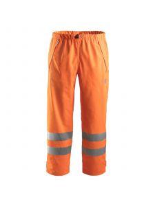 Snickers 8243 Regenbroek High-Visibility Klasse 2 PU - High Vis Orange