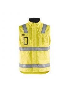 Waistcoat 8505 High Vis Geel/Marineblauw - Blåkläder