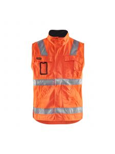Waistcoat 8505 High Vis Oranje/Marineblauw - Blåkläder