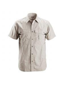 Snickers 8506 Rip-Stop Shirt s/s - Alum. Grey