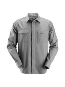 Snickers 8510 Service Shirt l/m - Grey