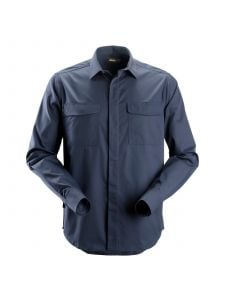 Snickers 8510 Service Shirt l/m - Navy