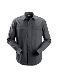 Snickers 8510 Service Shirt l/m - Steel Grey