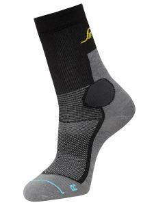 Snickers 9217 LiteWork, 37.5® Sokken - Grey/Black