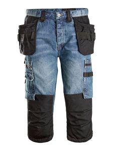 Dunderdon P12K Cordura Denim Work Trousers - Stonewashed