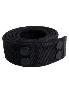 Dunderdon BE01 Canvasbelt - Black/Black
