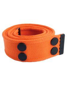 Dunderdon BE01 Canvasbelt - Orange/Black