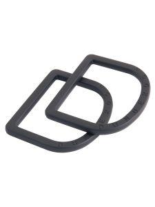 Dunderdon DR1 D-Ring Buckle - Black
