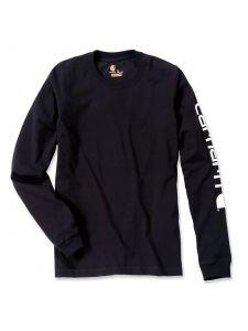 Carhartt EK231 T-Shirt Logo l/m - Black