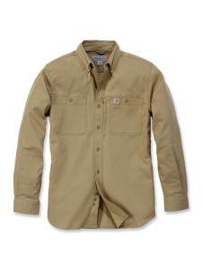 Carhartt 102538 Rugged Professional l/m Work Shirt - Dark Khaki
