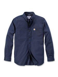 Carhartt 102538 Rugged Professional l/m Work Shirt - Navy