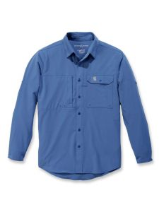 Carhartt 103011 Force Extremes Angler l/s Shirt - Federal Blue