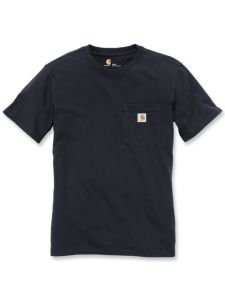 Carhartt 103067 Women's Pocket T-Shirt k/m - Black