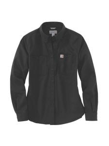 Carhartt 103106 Women's Rugged Shirt l/s - Black