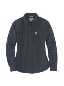 Carhartt 103106 Women's Rugged Shirt l/s - Navy