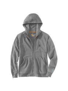 Carhartt 103851 Force Delmont full-zip hooded sweatshirt - Asphalt heather